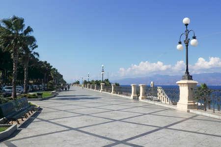 calabria: Reggio di Calabria Stock Photo