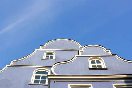 gable home renovation: Memmingen gable