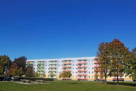prefabricated buildings: Prefab en Senftenberg
