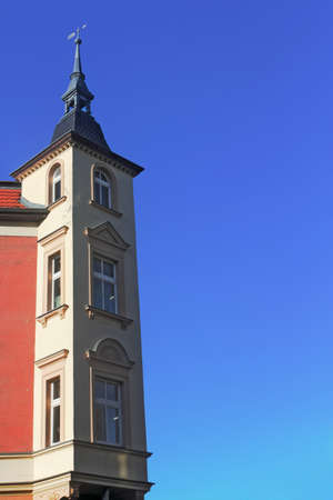 mietshaus: Tower house with bay