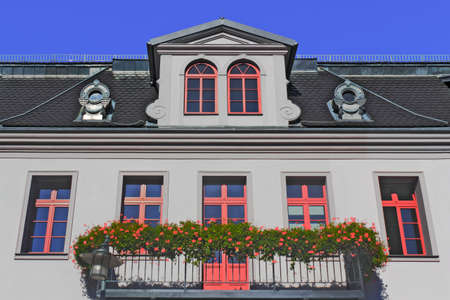mietshaus: old building Stock Photo