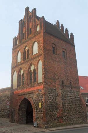 corroborate: Mills Gate in Templin Stock Photo