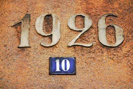 Date and House Number