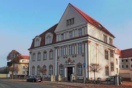 house gables: District Court Zehdenick