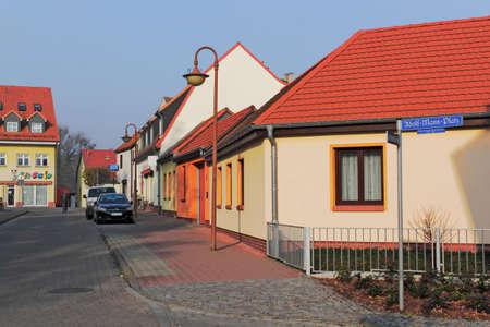 brandenburg home ownership: Zehdenick neighborhoods Stock Photo