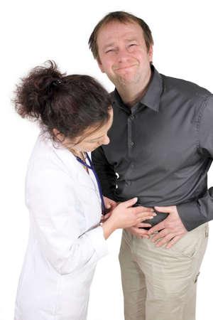 stomach ache photo