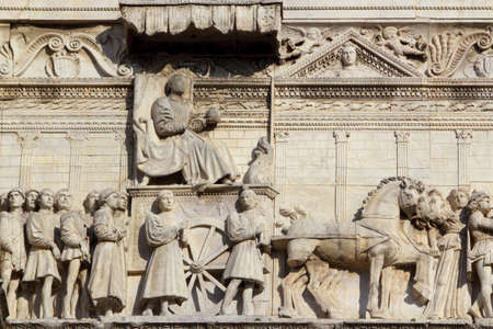 Relief at the Castello Nuovo photo