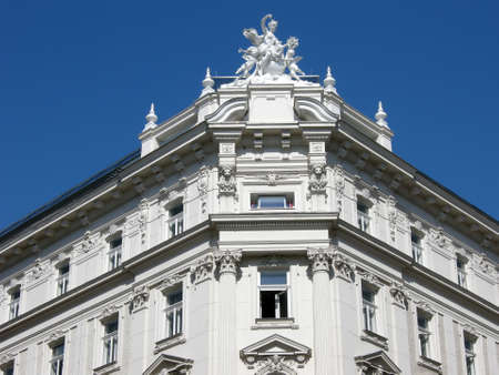 Viennese building photo