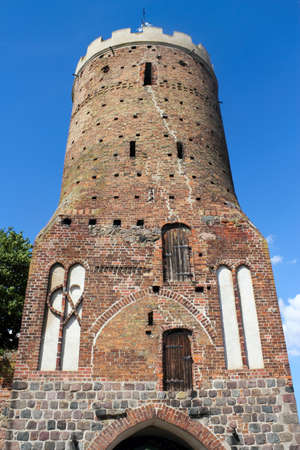 heritage protection: Blindower Gate Tower Stock Photo