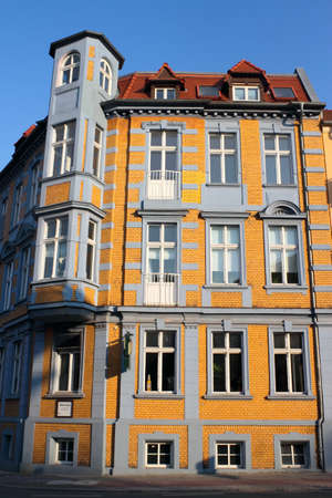 mietshaus: Old City House Stock Photo