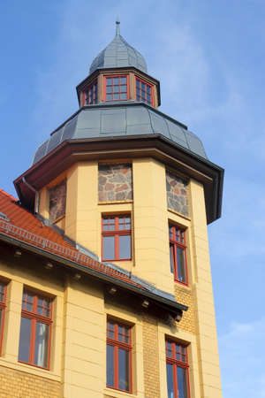 mietshaus: Tower House Stock Photo