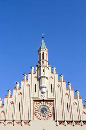 house gables: Landshut Town Hall