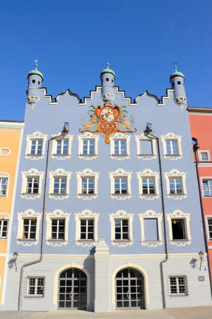 Burghausen city hall building Stock Photo - 14184355