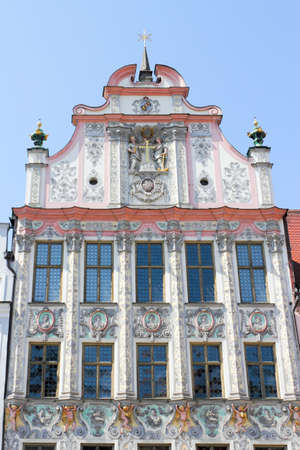 gable home renovation: City Hall of Landsberg on the Lech