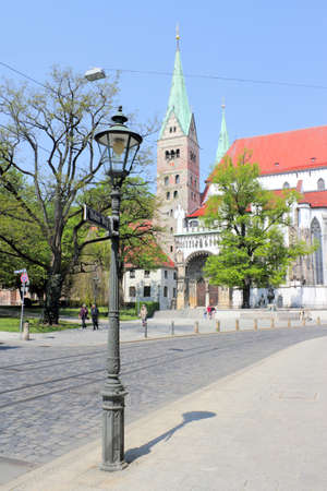 heritage protection: Cathedral of Augsburg
