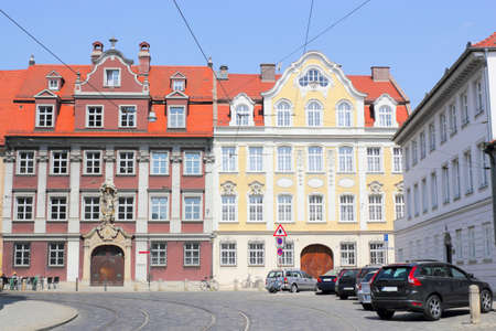 seemed: Augsburg Historic Houses