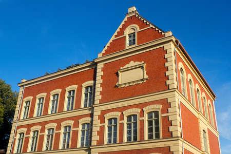 house gables: Brick House