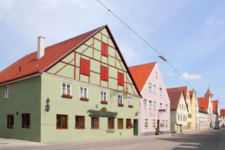 gable home renovation: Old Town of Nordlingen