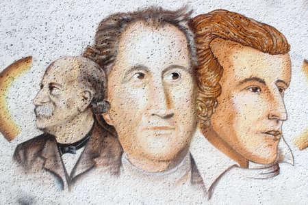 national poet: Goethe, Schiller and Fontane