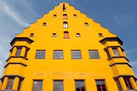 house gables: Hall building in Nordlingen