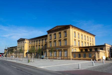 Bahnhof Wittenberge Stockfoto - 14184425