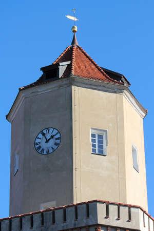 lower lusatia: Castle Spremberg Stock Photo