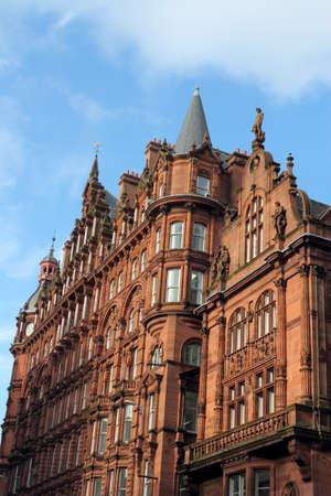 stucco facade: Old Town House a Glasgow