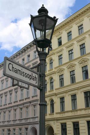 mietshaus: Berlin Chamisso Square