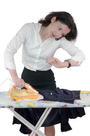 hectic: Ironing stress