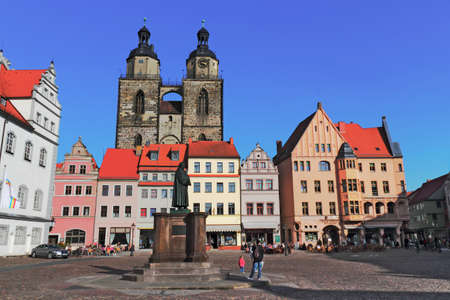 Luther City Wittenberg Stock Photo - 14392644