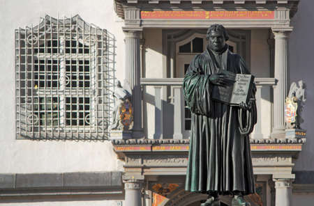 old town townhall: Martin Luther