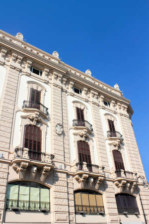 mietshaus: Old Building in Palermo