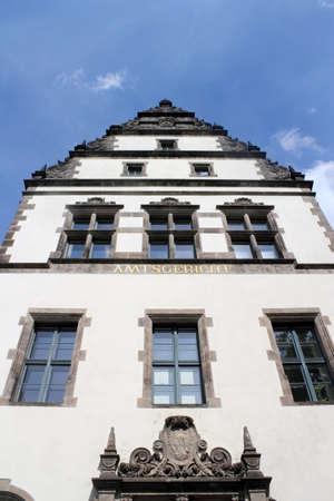 house gables: Tribunal de Distrito de Cottbus