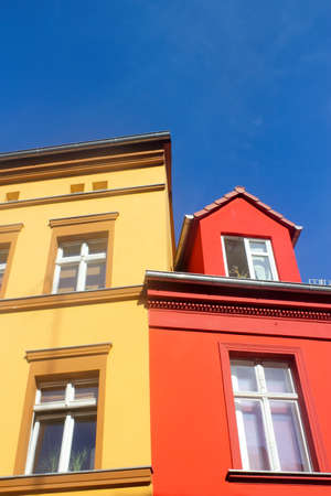 colorful buildings photo