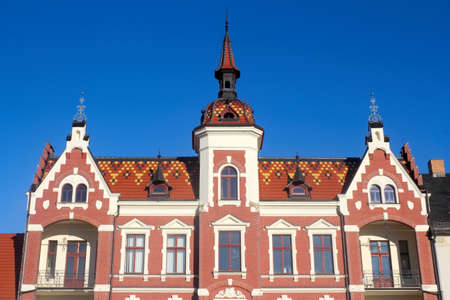 turrets: Old building with turrets