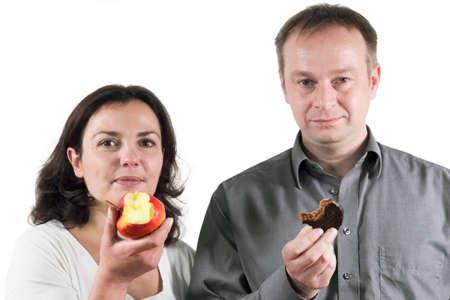 Vitamins or Chocolate photo