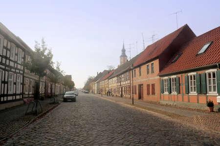 mietshaus: Old City of Templin Editorial
