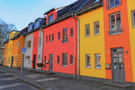 Townhouses Stock Photo - 14939090