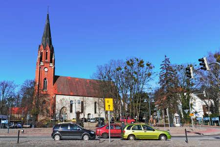 burg: Burg Stargard City Church