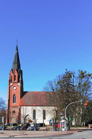 urban idyll: Burg Stargard City Church