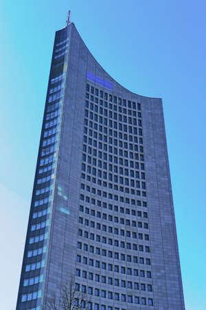 plattenbauten: Leipzig Skyscraper