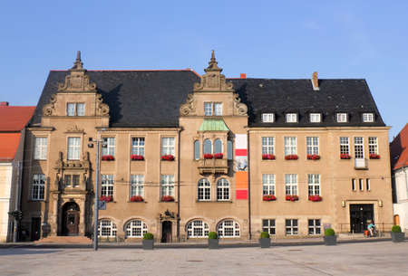 urban idyll: City Hall in Eberswalde