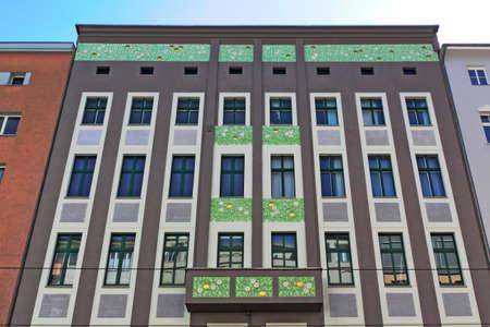 mietspiegel: Art Nouveau house Editorial