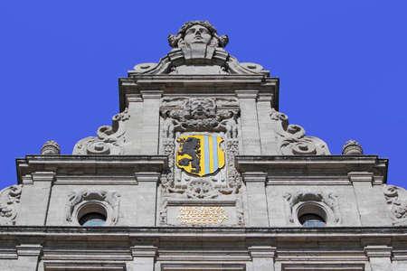 lion figurines: Leipzig New Town Hall