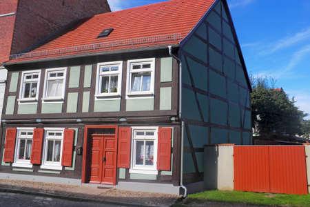 brandenburg home ownership: Half-timbered house