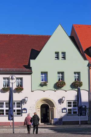 gable home renovation: Senftenberg Old City
