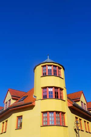 corner house: Yellow Corner House Editorial