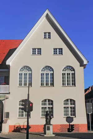 house gable: Restored gable house