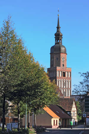 brandenburg home ownership: Spremberg with Cross Church