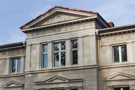 house gables: Antiguo Edificio en Templin